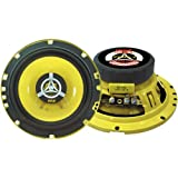 """Car Two Way Speaker System - Pro 6.5 Inch 240 Watt 4 Ohm Mid Tweeter Component Audio Sound Speakers For Car Stereo w/ 30 Oz Magnet Structure, 2.25"""" Mount Depth Fits Standard OEM - Pyle PLG6.2 (Pair)"""