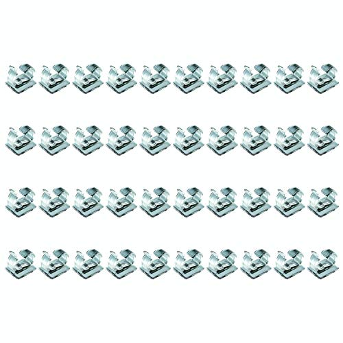 Adams - Confezione da 50 mini clip adesive per lucine
