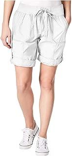 Calvin Klein Performance Poplin Cargo Shorts White 2XL