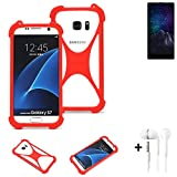 K-S-Trade® Mobile Phone Bumper + Earphones For M-Horse