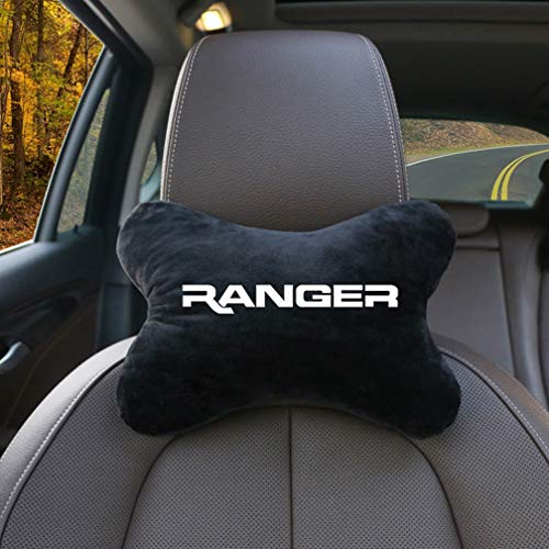 MARHOOK Car Neck Pillow,Cotton Car Pad Chair,Neck Safety Pillow Car Interior Accessories,For Ford Ranger
