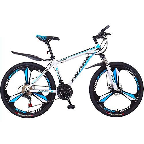 XIAOFEI Mountainbike Männerfahrräder mit Variabler Geschwindigkeit im Gelände, stoßdämpfende 24/26-Zoll-21-Gang-Vorderradgabel, verdickter Rahmen,B4,26 21S