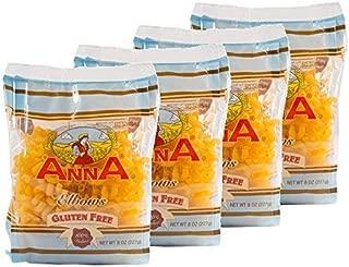 Anna Gluten Free Elbows Pasta, Pack of 4