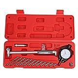 Set di calibri per quadrante, calibro per quadrante con teste di misura da 12 pezzi Set calibro di misura per cilindro, precisione elevata 0,01 mm Indicatore da 50-160 mm