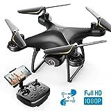SNAPTAIN SP650 Drone 1080P FHD Telecamera per Principianti, Controllo Vocale, Controllo dei Gesti, Volo Circolare,...