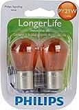 Philips 12496 LongerLife Miniature Bulb, 2...
