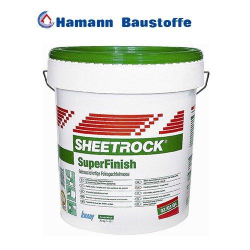 SHEETROCK Allzweckspachtel Super Finish 20kg - grüner Deckel