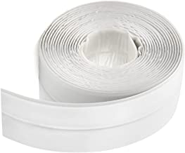FOCCTS Zelfklevende afdichtingstape voor douche en keuken, waterdicht & schimmelbestendig, afdichtingstape voor badkamer, ...
