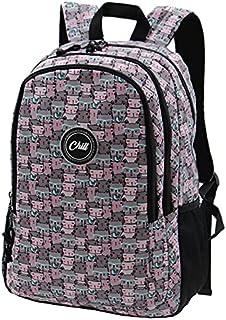 حقائب الظهر للطلاب بنمط كاجوال خفيفة الوزن من مادة معاد تدويرها من تشيل للحقائب النهارية للمدرسة.