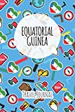Equatorial Guinea Travel Journal: 6x9 Travel planner I Road trip planner I Dot grid journal I Travel notebook I Travel diary I Pocket journal I Gift for Backpacker