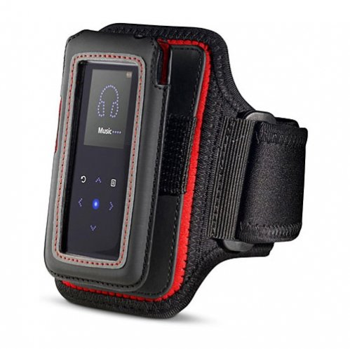 Belkin Gym Workout Sports Armband Case with Detachable Pouch fits iPOD NANO 5th Gen (5 / 5G Generation)