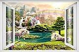 Wandtattoo Pegasus 3D Wandkunst Aufkleber Aufkleber Poster