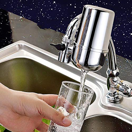 Affordable WYYZSS Tap Water Filter System Tap Water Filter System with Filter Replacement Tips Can R...