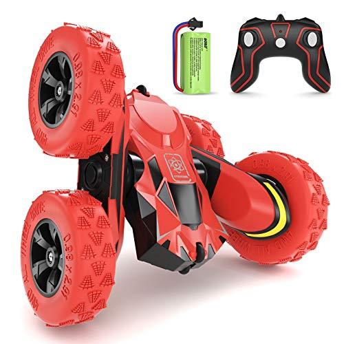 SGILE RC Voiture Télécommandée - 4WD Stunt Car avec Batterie
