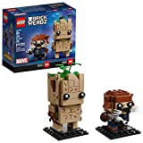 LEGO BrickHeadz Groot & Rocket Building Kit, Multicolor