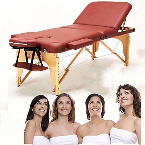 Table De Massage Pliante, 3-section, Lit De Massage, Professionnelle Cosmétique Table Table Lit De...