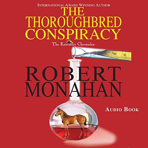 The Thoroughbred Conspiracy audiobook cover art