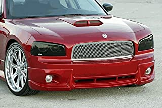 GT Styling GT0663S Smoked Headlight Covers 2006-10 Charger