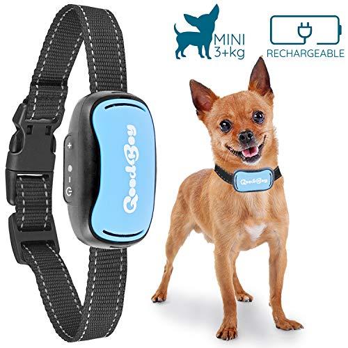 Antibell Vibrationshalsband für Kleine Hunde Wiederaufladbar und Wasserdicht