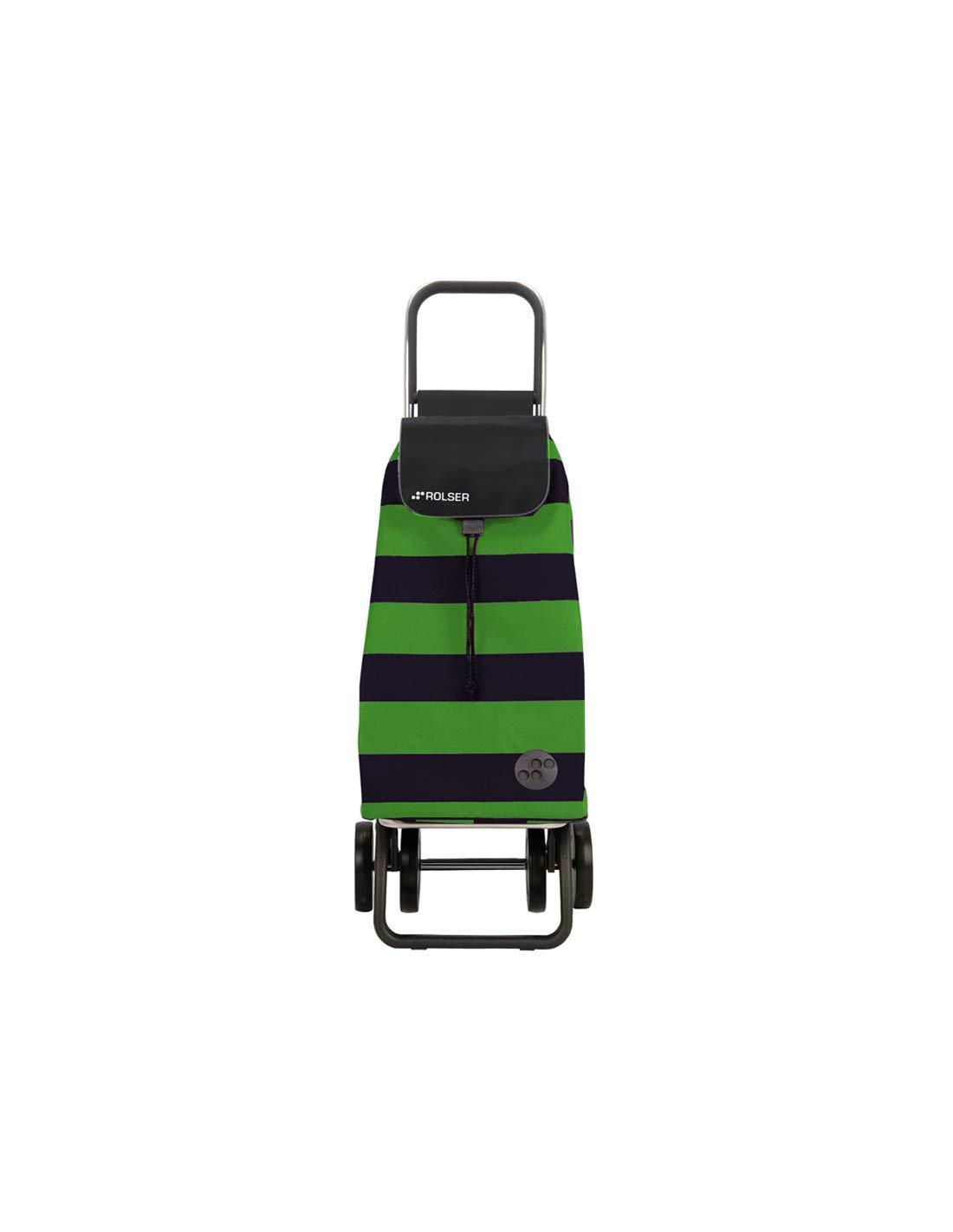 Carro Rolser Pack Lido 4 Ruedas Plegable - Verde/Negro: Amazon.es ...