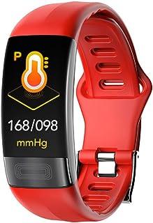JSFDSUCM Smart Bracelet - Pulsera inteligente de presión arterial, pulsómetro, PPG EKG