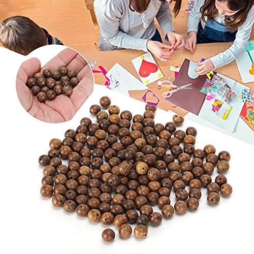 Espaciador de bolas, accesorios de joyería de bricolaje Perlas delicadas de orificios redondos 150 piezas para hacer pulseras para manualidades de bricolaje para hacer collares para