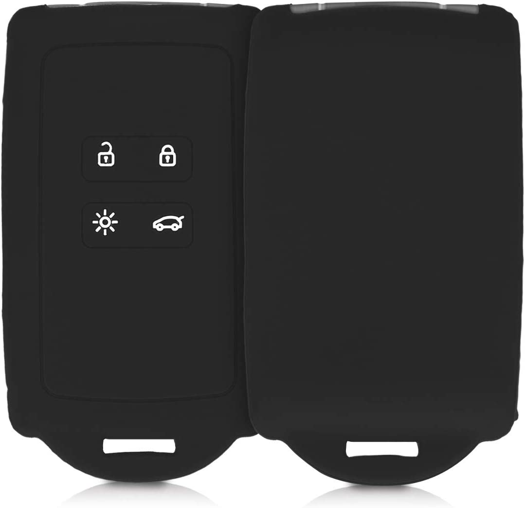 kwmobile Key Cover Compatible with Black Renault - Popular shop is the lowest price challenge Directly managed store