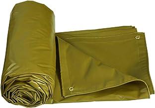 HMLIFE Zeildoek, heavy duty dubbelzijdige waterdichte regendichte doek voor buiten, winddicht, schaduwdoek, vrachtwagen, a...