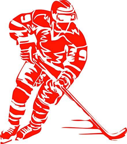 Generisch Eishockeyspieler Eishockey Aufkleber Autoaufkleber Sticker Decals Sport