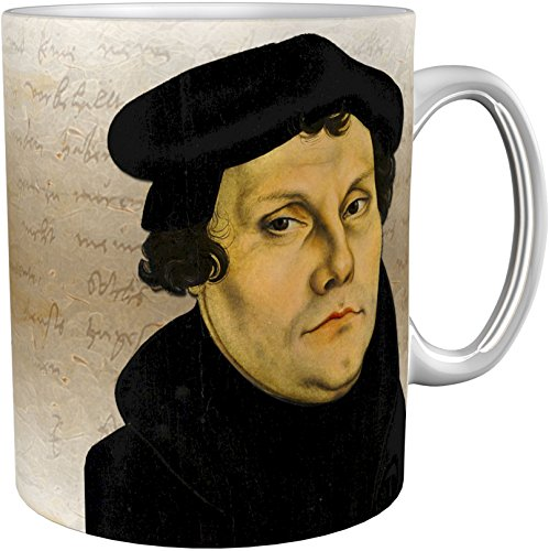 metALUm Kaffeetasse Martin Luther # 3300100152