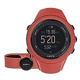 Suunto - Ambit3 Sport HR - SS021469000 - Reloj GPS Multideporte + Cinturón de frecuencia cardiaca (Talla M) - Sumergible 50 m - Rojo Coral