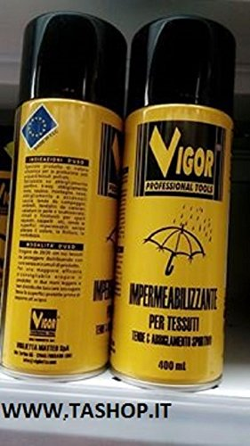 Vigor Spray Impermeabilizzante per Tessuti, 400 ml