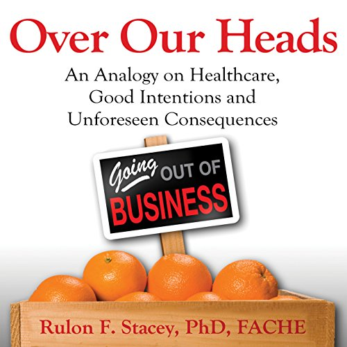 Over Our Heads audiobook cover art