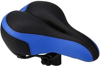 Vibola Bike Saddle Seat Wide Big Bum Bike Bicycle Cruiser Extra Comfort Sporty Soft Pad Saddle Seat