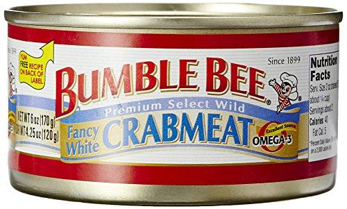 Bumble Bee White Crabmeat, 6 oz