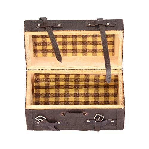 Autenticidad Caja de Equipaje RC Ligera Caja de Equipaje RC Caja de Equipaje de simulación Caja de Madera para Coche RC a Escala 1/10