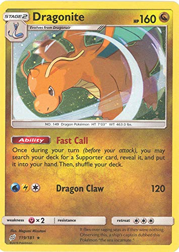Dragonite - 119/181 - Holo Rare