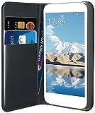 Muvit MUSNS0057 - Funda folio para LG L70 con función soporte y tarjetero, negro