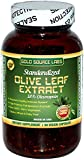 Organic Olive Leaf Extract Capsules - Pure Organic Olive Leaf Plus Standardized Oleuropein Extract, 90 Vegetarian Caps, 400 mg Maximum Strength Complex for Immune Health