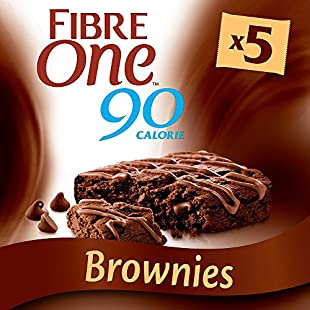 Fibre One 90 Calorie Chocolate Fudge Brownie Bars 5x24g