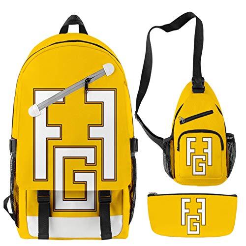Anno Mochila para niños y niñas de la escuela primaria mochila escolar niños 3D mochila mochila de viaje deporte mochila
