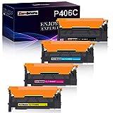 Zambrero Kompatibel Samsung Toner 406S CLT-P406C CLT-406S für Samsung Xpress C460W C460FW C410W C460 CLP-360 CLP-360N CLP-365 CLP-365W CLX-3300 CLX-3305 CLX-3305FN CLX-3305FW CLX-3305W (4-Pack)