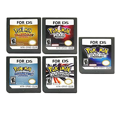 Nuevo Pokemon Heart Gold Version, Soul Silver Version,Super Smash Bros - Consola de cartucho de videojuego N64 Versión EUR