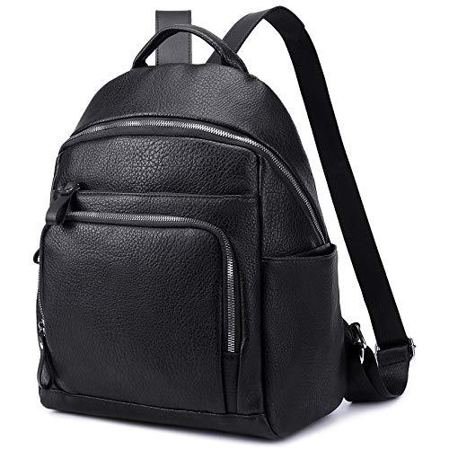 Myhozee Rucksack Geldbörse für Frauen Mode Leder Handtasche Daypack Schultertasche