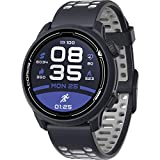 COROS PACE 2 Premium GPS Sport Watch with Silicone Band, Heart Rate Monitor, 30h Full GPS Battery, Barometer, ANT+ & BLE Connections, Strava, Stryd & Training Peaks (Navy - Silicone Band)
