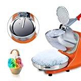 Oteymart 300W Electric Ice Shaver Machine Shaved Ice Snow Cone Maker Stainless Steel Blade 143 lbs New