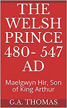 Book cover image for The Welsh Prince 480- 547 AD: Maelgwyn Hir, Son of King Arthur (1)