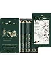 Faber-Castell 119065 zestaw ołówków Castell 9000, zestaw 12 sztuk