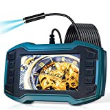 Borescope Inspection Camera, LONOVE Industrial Endoscope Camera 1080P 4.5'...