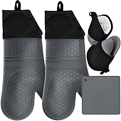Amazon - 10% Off on Extra Long Oven Mitts and Pot Holders Sets